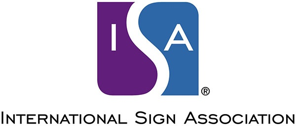 ISA-International Sign Association Logo